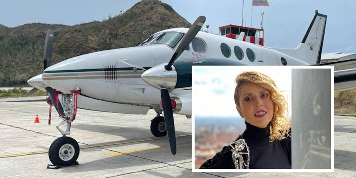 alejandra azcarate defiende esposo avion cocaina
