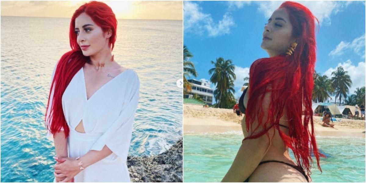 Rafaella Chávez, hija de Marbelle, cambió de look pasó pelo rojo al rubio