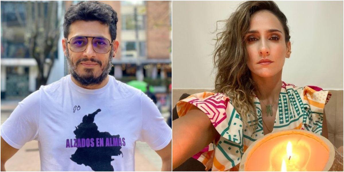Santiago Alarcón enamorado belleza actriz trans Isabella Santiago