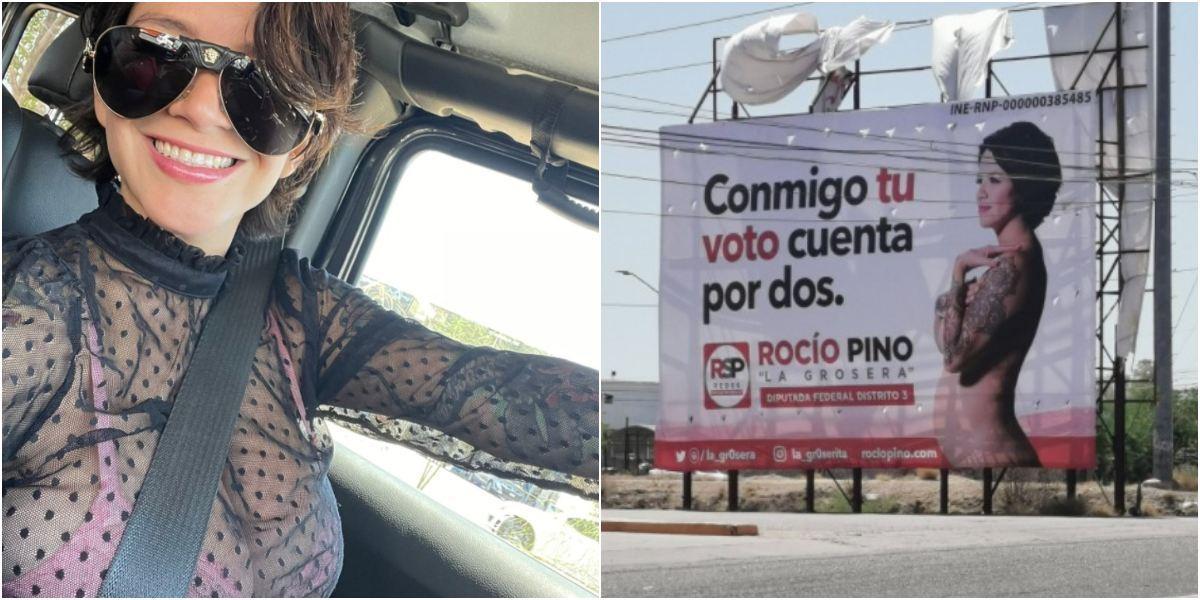 Candidata diputada México promete cirugías senos gratis