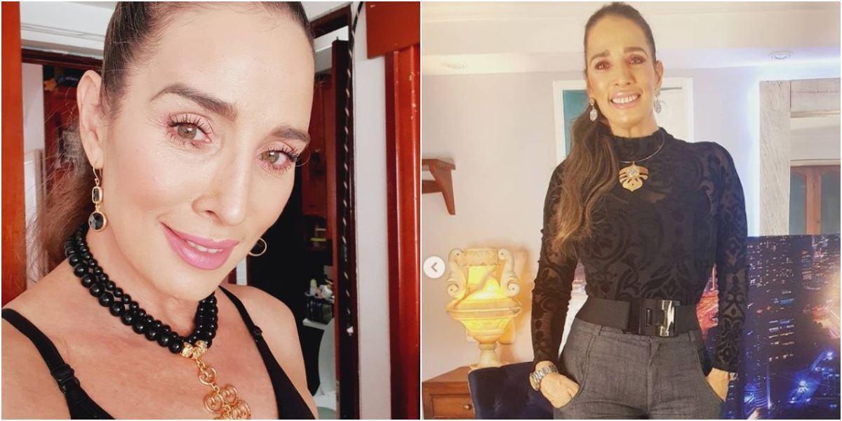 """Luly Bossa posó casi 'en bola' y la llamaron """"diosa"""""""
