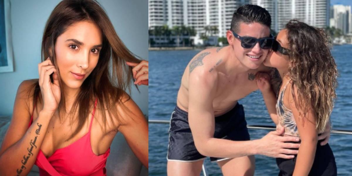Daniela Ospina revela qué tan buena es su relación con James Rodríguez