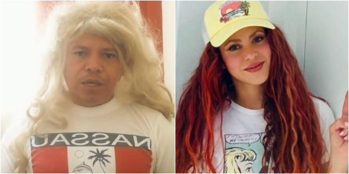 Tiktoker imita perfectamente a Shakira