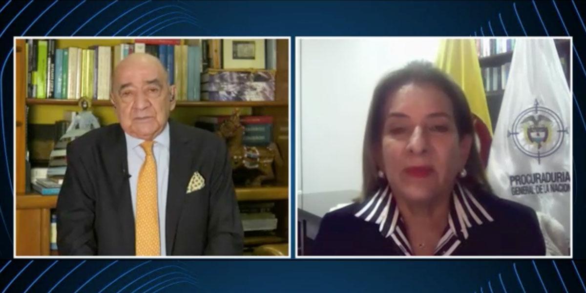 Procuradora Margarita Cabello se defiende de críticas del Consejo de Estado
