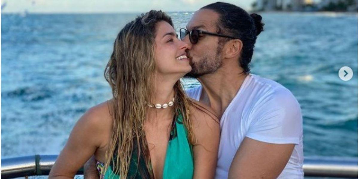Cristina Hurtado grabó a su esposo Josse Narváez para mostrar cómo inicia el día