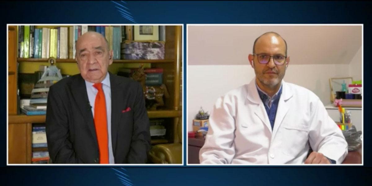 Situación por el covid es desesperante, dice el presidente del Colegio Médico