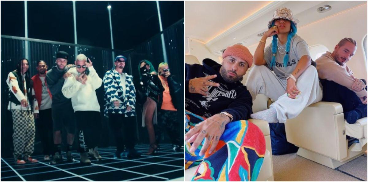 Video Poblado Remix de J Balvin, Karol G y Nicky Jam