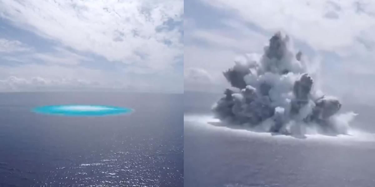 marina de estados unidos explosion portaviones mar atlantico