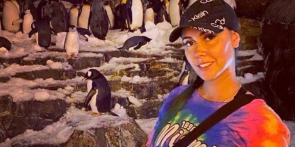 Manuela Gómez de paseo por Las Vegas, EE.UU. con su novio