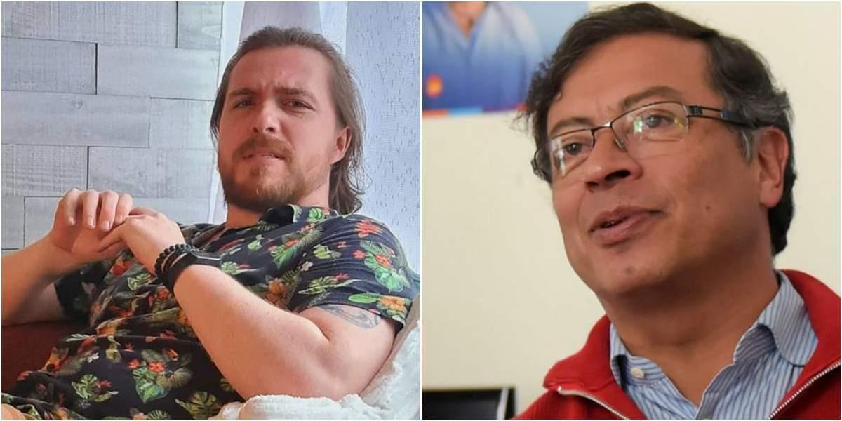 gustavo petro brasileño confundido con politico colombia humana