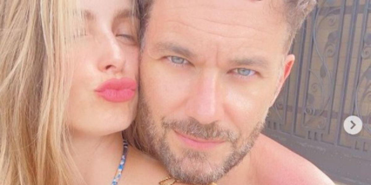 Josse Narváez está feliz con el embarazo de su esposa Cristina Hurtado