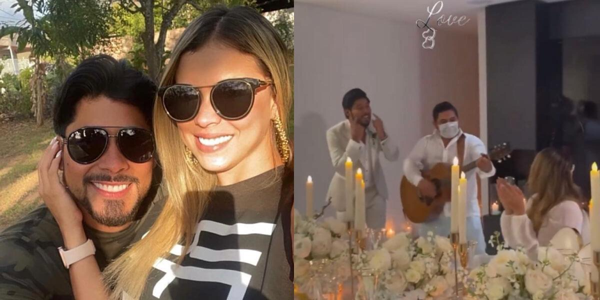 Lowe León y Liceth Córdoba