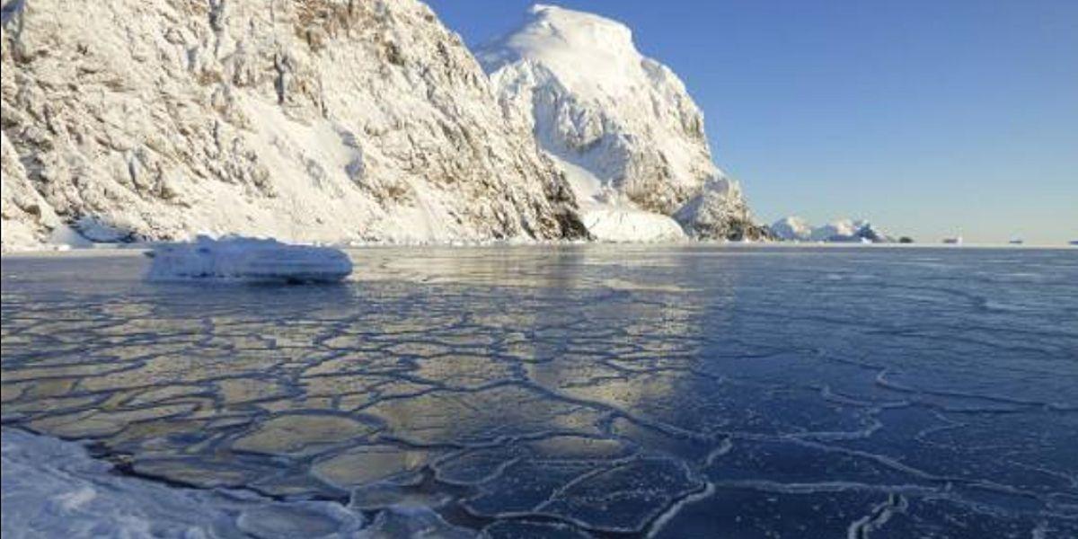 cambio climático en la Antártida