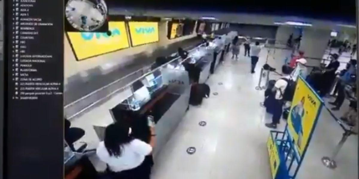 video aeropuerto cartagena