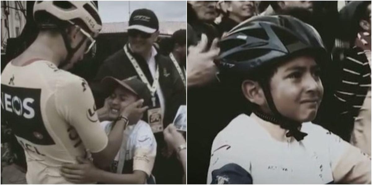 Egan Bernal sentido mensaje muerte Julián Torres