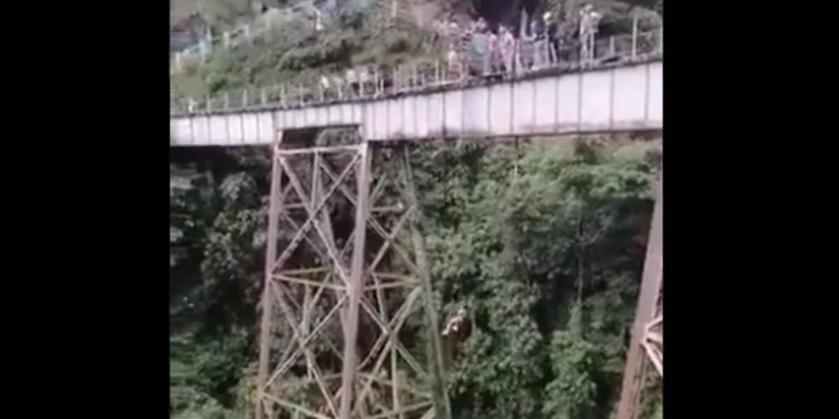 salto amagá muerte