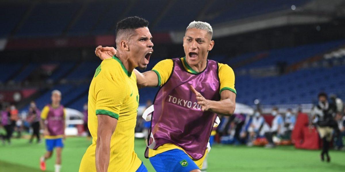 celebración Brasil juegos Olimpicos