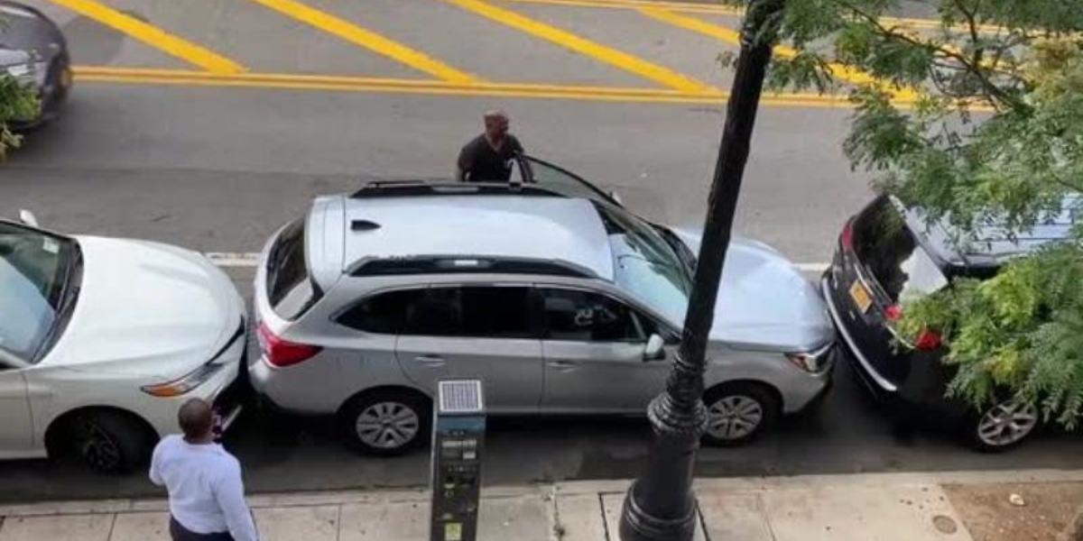 video viral conductor sale reducido estacionamiento parqueo