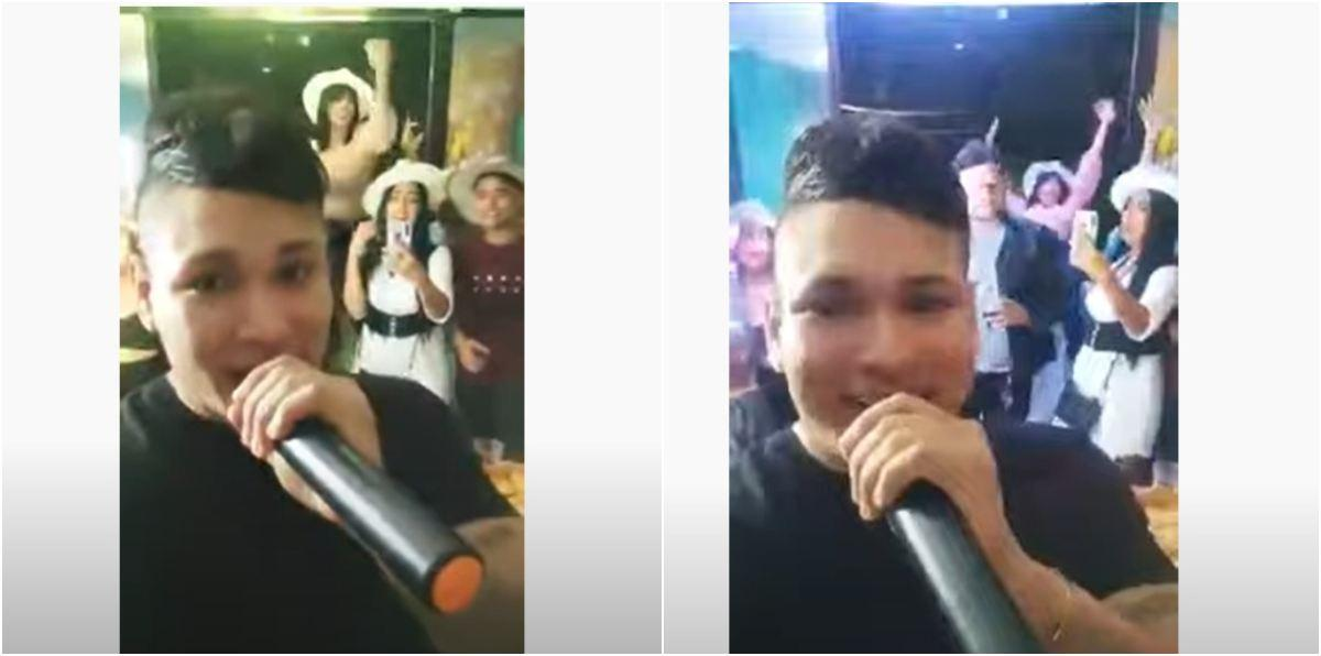 Video mujer caída ventana segundo piso en Barranquilla