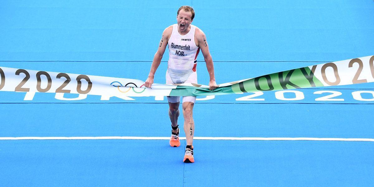 Kristian Blummenfelt Juegos Olímpicos