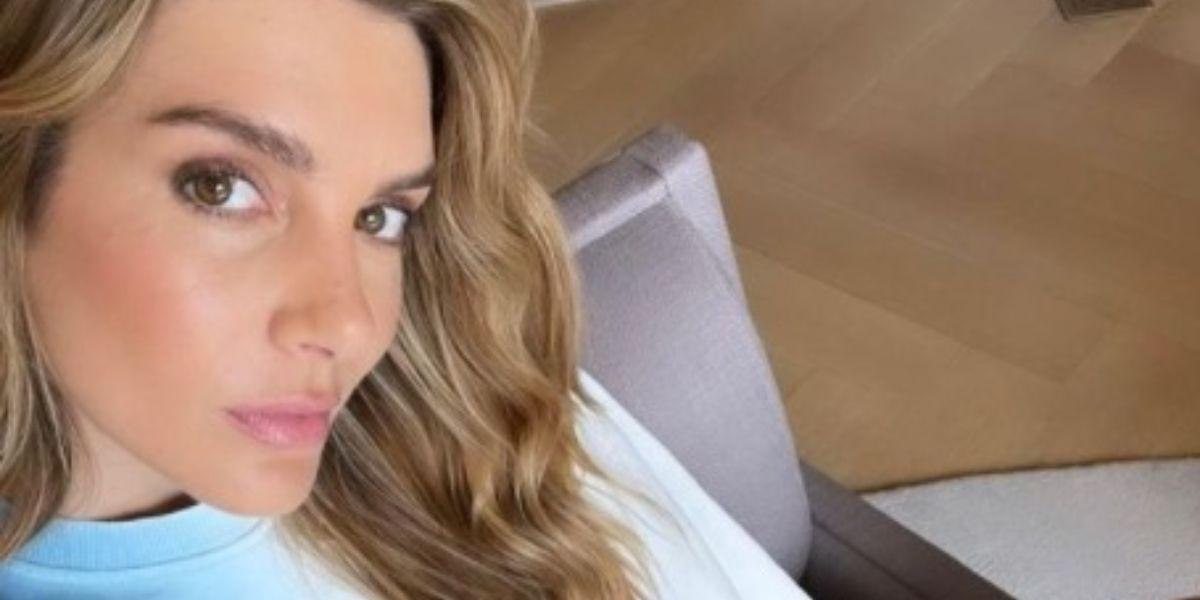 Valentina Ferrer celebró el primer mes de Río con foto de su abdomen plano