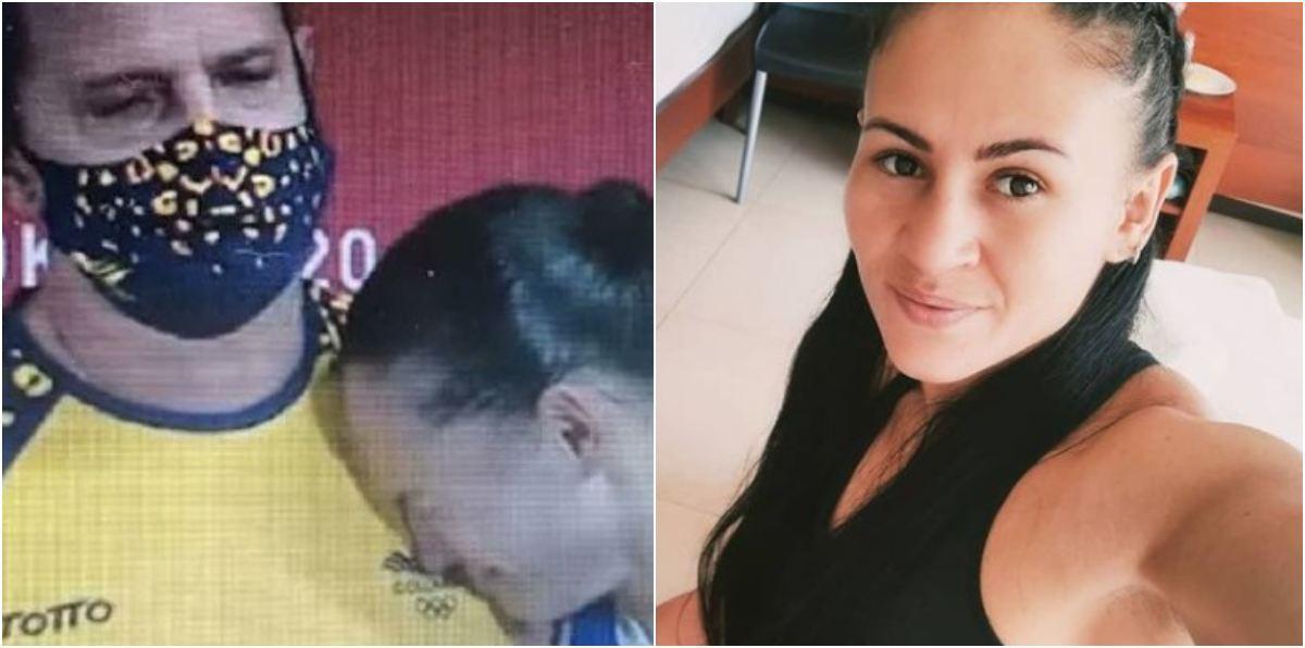 Boxeadora colombiana Jenny Arias lloró desconsolada tras perder en los Juegos Olímpicos de Tokio