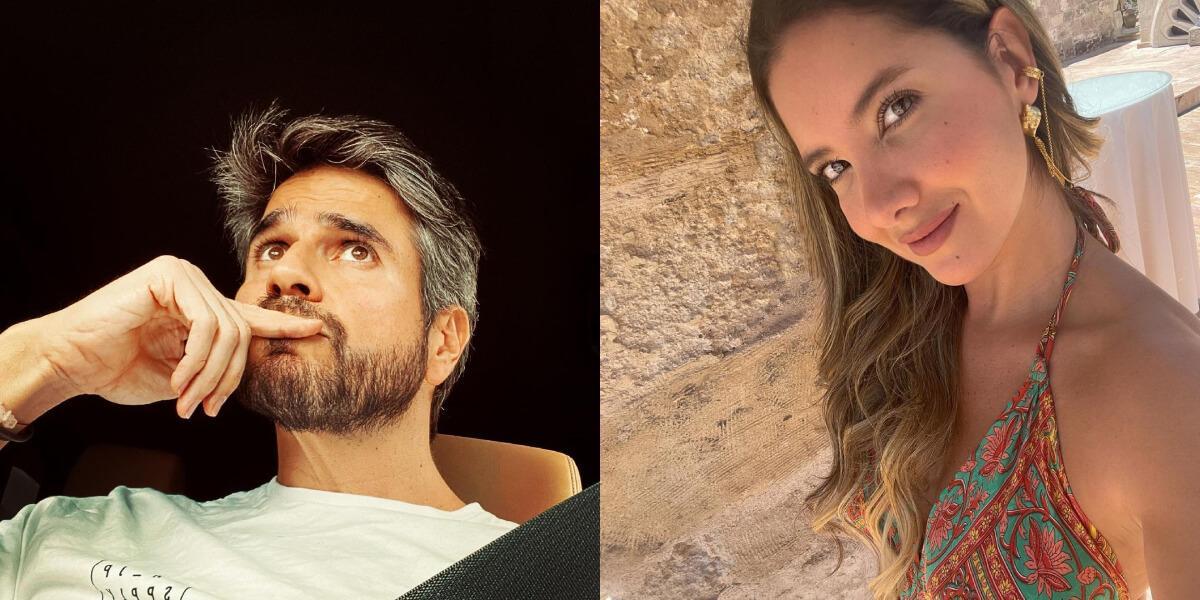 Daniel Arenas y Daniella Álvarez