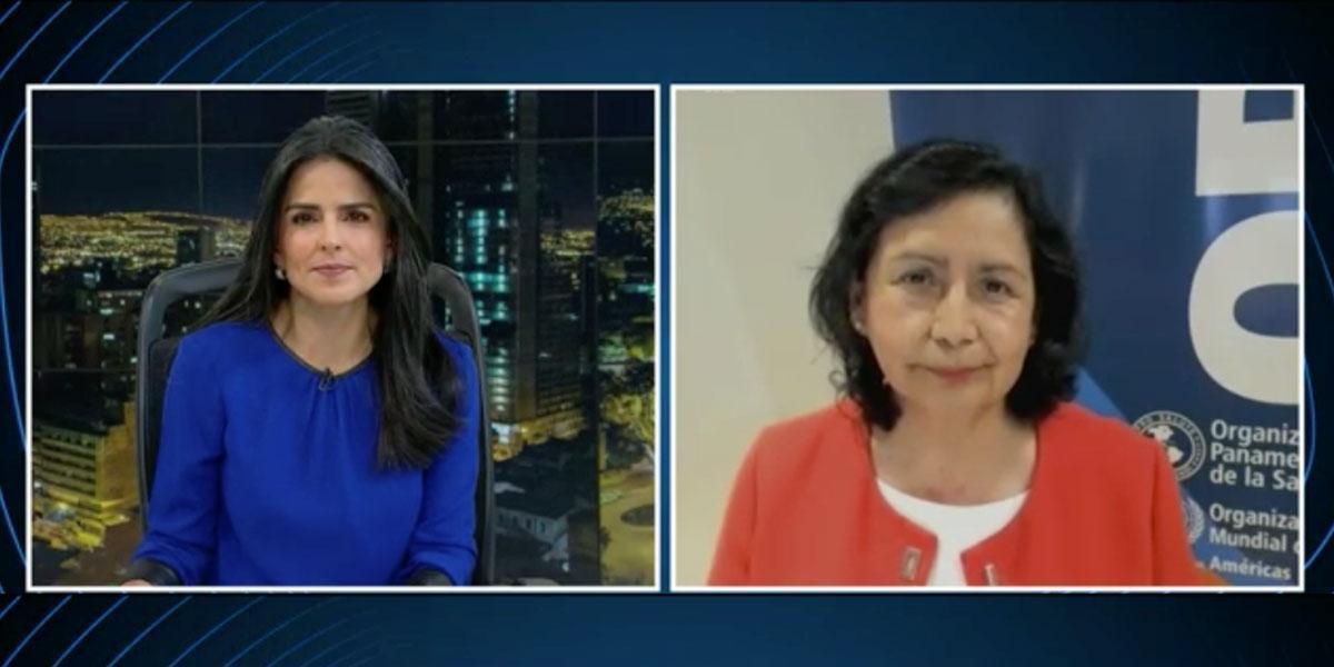 Entrevistas Canal 1   Directora de la OMS/OPS para Colombia asegura que las vacunas sí son efectivas contra la variante delta del COVID-19