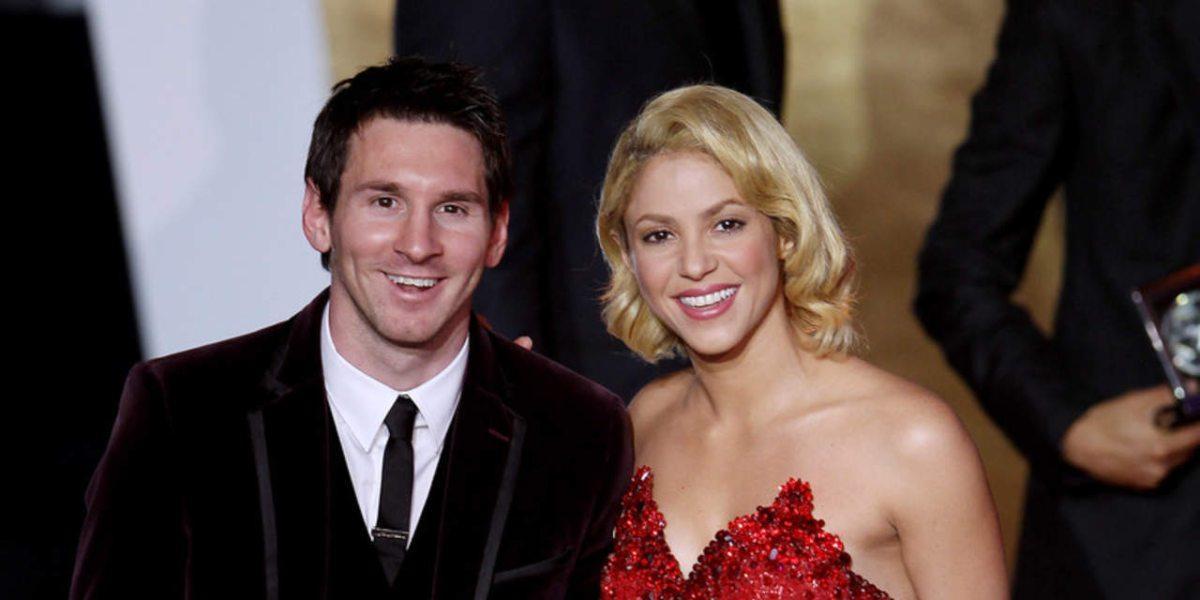 shakira Messi