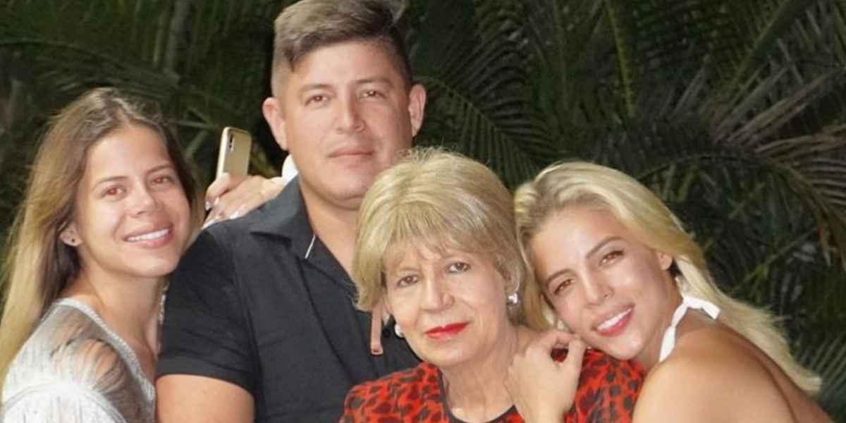 Tatiana Ángel y su mamá