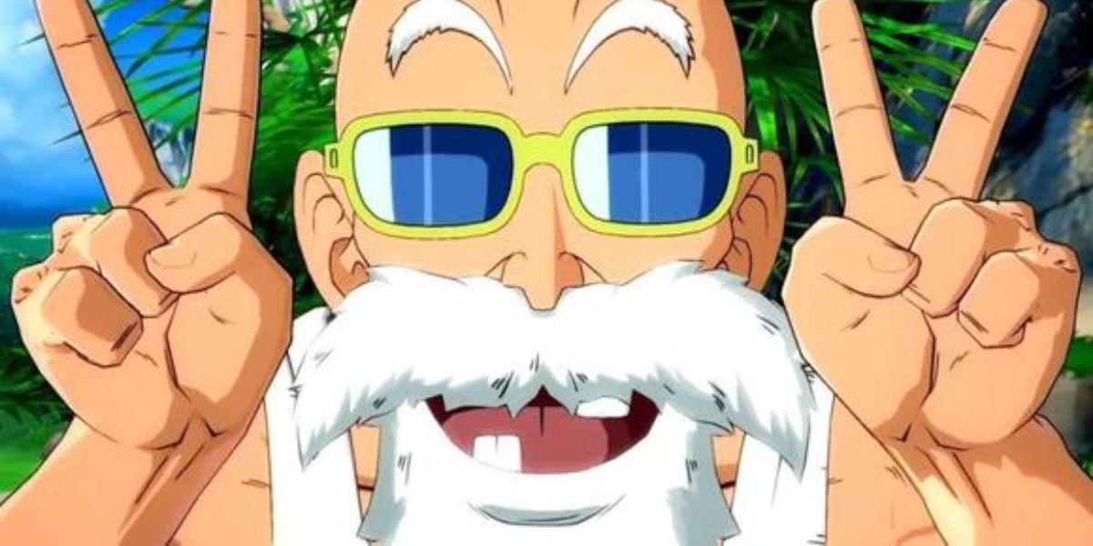 maestro Roshi dragon ball escena censurada
