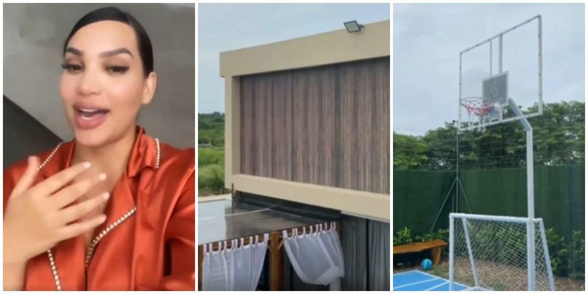 Andrea Valdiri video nueva casa afuera Barranquilla