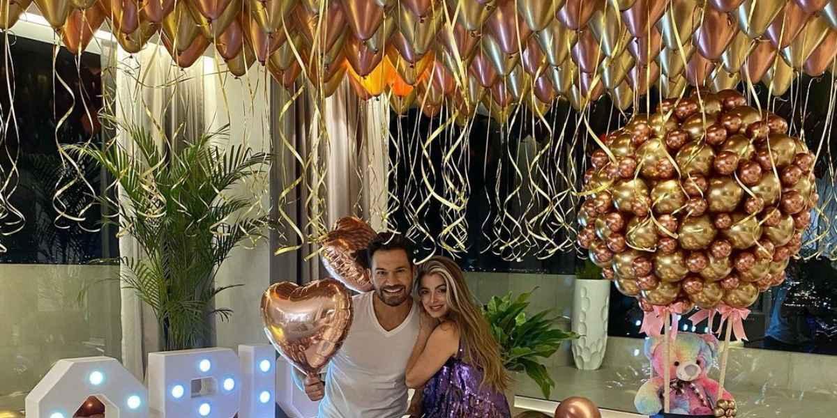 Josse y Cristina Hurtado celebración
