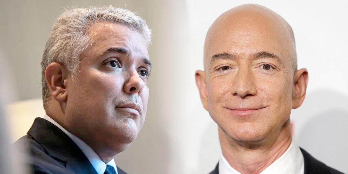 Entrevistas Canal 1: presidente Duque revela detalles de reunión con multimillonario Jeff Bezos