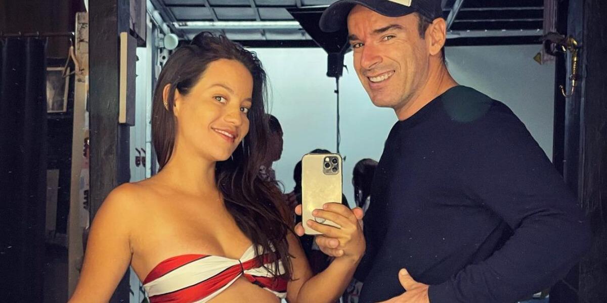 Natalia Reyes y Juan Pedro