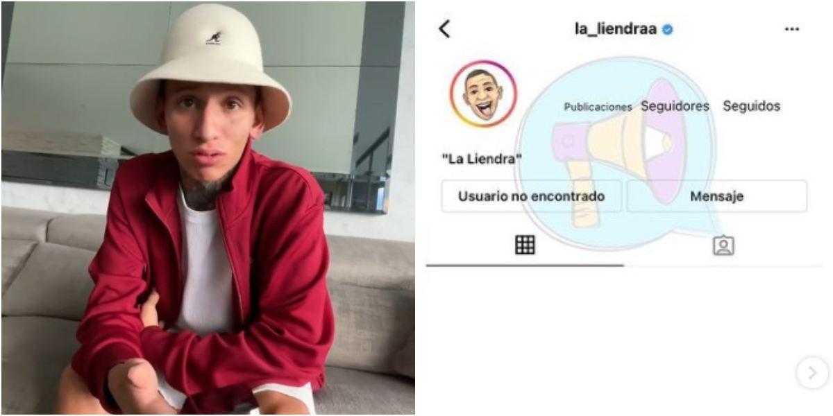 Cerraron nuevamente cuenta Instagram a La Liendra