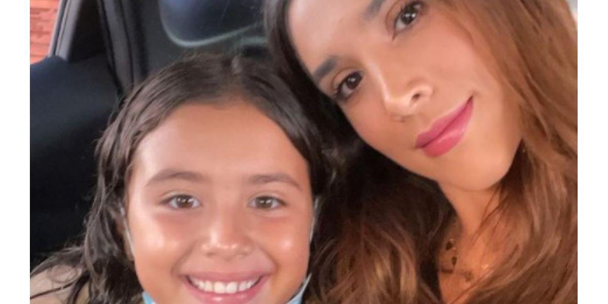 Críticas a Daniela Ospina por pelo de su hija Salomé Rodríguez