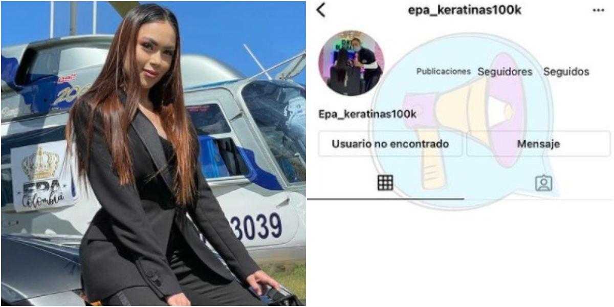 Epa Colombia cierran cuenta Instagram empresarial keratinas